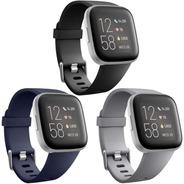 3 Mallas Para Reloj Fitbit Versa / Versa 2 / Talle Large