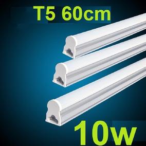 Lâmpada Led Tubular T5 60cm C/calha Acoplada 10w