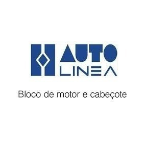 Par Cabecote Autolinea+valvulas+junta Motor Fusca Vw1600 /84