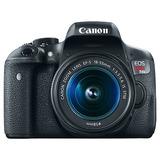 Tecnología Canon T6i Rebel Eos Camara Videocámaras Y Cámaras
