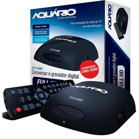 Conversor E Gravador Digital Aquário Dtv-5000