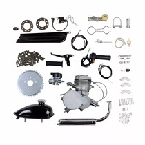 Super Kit Motor P/ Bicicleta 80cc 2 Tempos Potente Para Bike