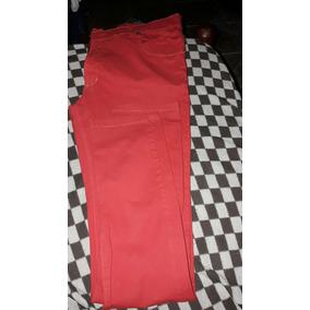 Pantalón Rojo Chupin Hombre Talle 38