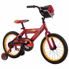 Bicicleta Huffy Disney Cars Rin 16 Para Niños 3 A 6 Años