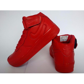 Air Force 1 Cano Alto Mid One Swag Red 35 Ao 43
