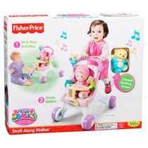 Andador Meu Primeiro Carrinho De Bebê Fisher Price M9523