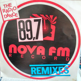 Lp Vinil 89,7 Nova Fm Record Remixes - The Radio Dance