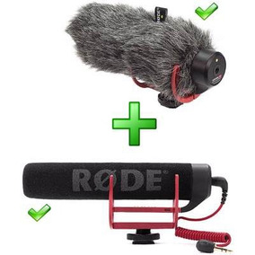 Rode Go + Deadcat Vento Shotgun Canon Nikon Sony Videomic