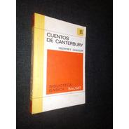 Cuentos De Canterbury Geoffrey Chaucer Basica Salvat