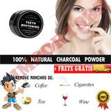 Branqueamento Dentário Em Pó 100% Natural + Frete Grátis