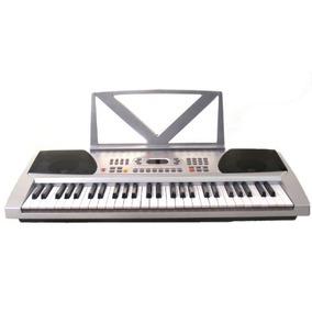54 Chaves De Prata Teclado Eletr¿nico Piano Digital - Com N