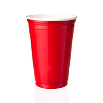 Kit 100 Copos Red Cup Party Vermelho