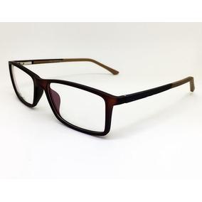 Óculos P/ Grau Masculino Ea3603 Fibra De Carbono Super Leve