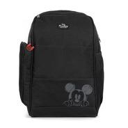 Mochila Baby Bag Casual Top Mickey Preto C/ Trocador Disney