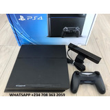 New-playstation-4-console-system-with Controllers