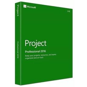 Licencia Project Professional 2016 32/64 Bit Original