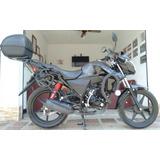 Parrilla Y Porta Alforjas Honda Cb 110