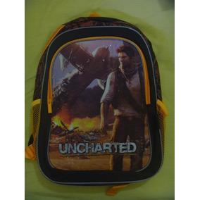 Morral Uncharted Playstation Original 100% Somos Tienda