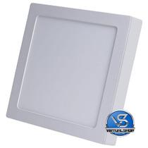 Plafon Sobrepor 25w Led Quadrado Painel Spot Luminaria Led