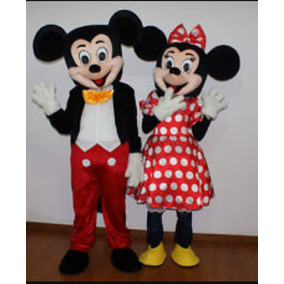 Mickey!!! Fantasia, Bonecos, Personagem Vivo!!
