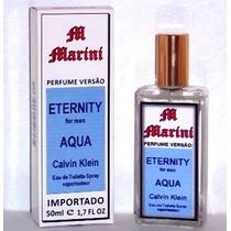 Perfume Versão Eternity For Men Aqua Calvin Klein Masc. 50ml