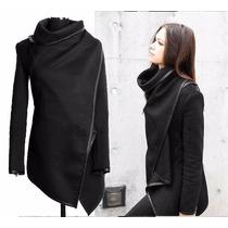 Tokio Moda Asiatic Abrigo Saco Poncho Irregular Casual K411