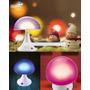 Velador Luz De Noche Mushroom Con Encendido Tactil