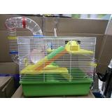 Jaula Hamster Supergigante Con Tuberia