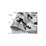 Vvivid Snow Camouflage Vinyl Car Wrap Adhesivo Calcomanía Di