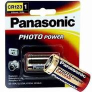Bateria Photo Lithium Cr123a 3v Com Kit C/3 Un. Original