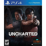 Uncharted:the Lost Legacy// Codigo Digital // Ps4 // Flynn