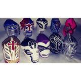 Llaveros Mascaras De Luchadores Fuego Titan Villano Demon Sa