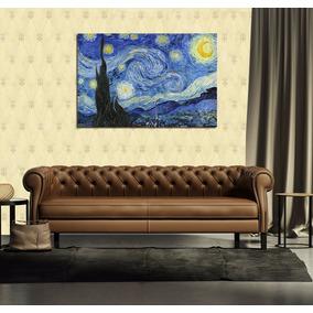 Cuadro Van Gogh Starry Night Noche Estrellada Cielo 40x60cm