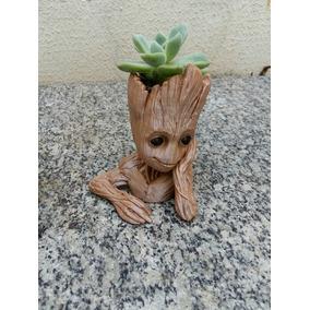 Baby Groot Vaso Ou Porta Objetos - Tamanho P
