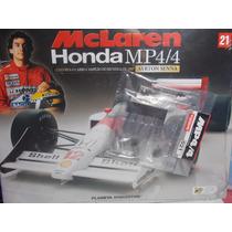 Mclaren Mp4/4- Ayrton Senna Planeta De Agostini Edição 21