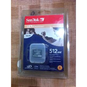 Memoria 512 Mb Xd Picture Card Sandisk Fujifilm Nuevas T-m
