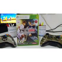 Pes 2013 Xbox 360 Midia Física + Portugues + Libertadores