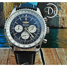 Reloj Breitling Navitaimer 01 In Black +envio Gratis