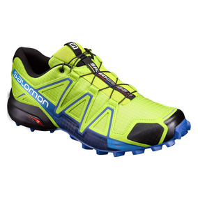 Tenis Hombre Salomon Trail Running Speedcross 4 Verde