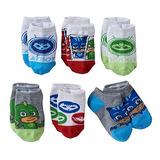 Pj Masks Toddler Boys Low-cut Calcetines 6-pack Gekko, Ampl