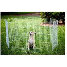 Cercado Canil Cães Coelhos Gatos 8 Lados Grande 80cm Altura