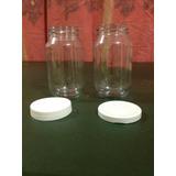 Frascos De Vidrios 500cc Tapa Plastica Tipo Mason Jar