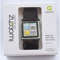 Pulseira Relógio Iwatchz Q Collection Ipod Nano 6 + Película