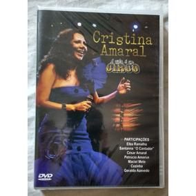 Dvd Cristina Amaral - A Vida É Um Circo (novo/lacrado)