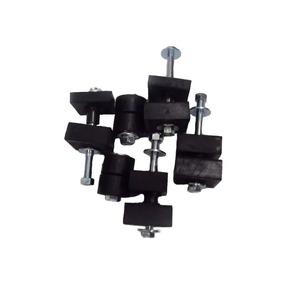Coxim Cabine Radiador C10 C14 D10 Kit/conjunto