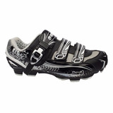 Sapatilha Bike Pro Mtb Tsw Hard 2 Fixadores 1 Trava Nº 40 Br
