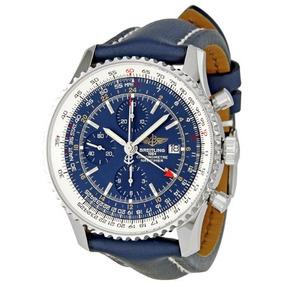 Breitling Hombre A / C651 Reloj Navitimer World Blue Chrono