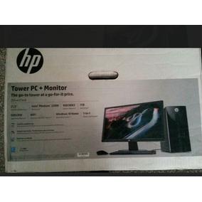 Computadora Hp Nueva En Su Caja Con Monitor De 22 Pulgadas