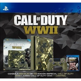 Consola Play Station 4 Slim 1 Tera Edicion Call Wwii