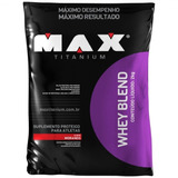 Whey Blend 2kg Max Titanium (morango)